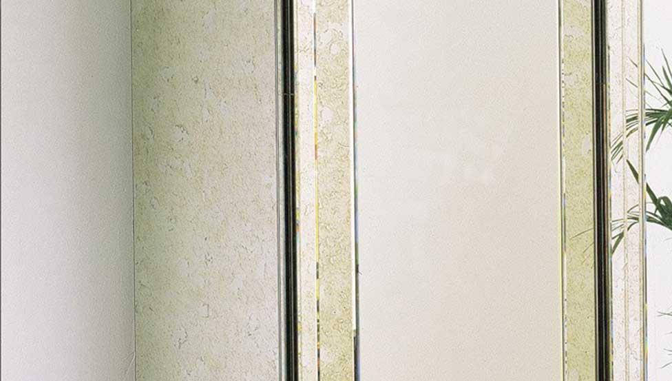 Miralite Antique   Mirroir vintage de Saint-Gobain Building Glass