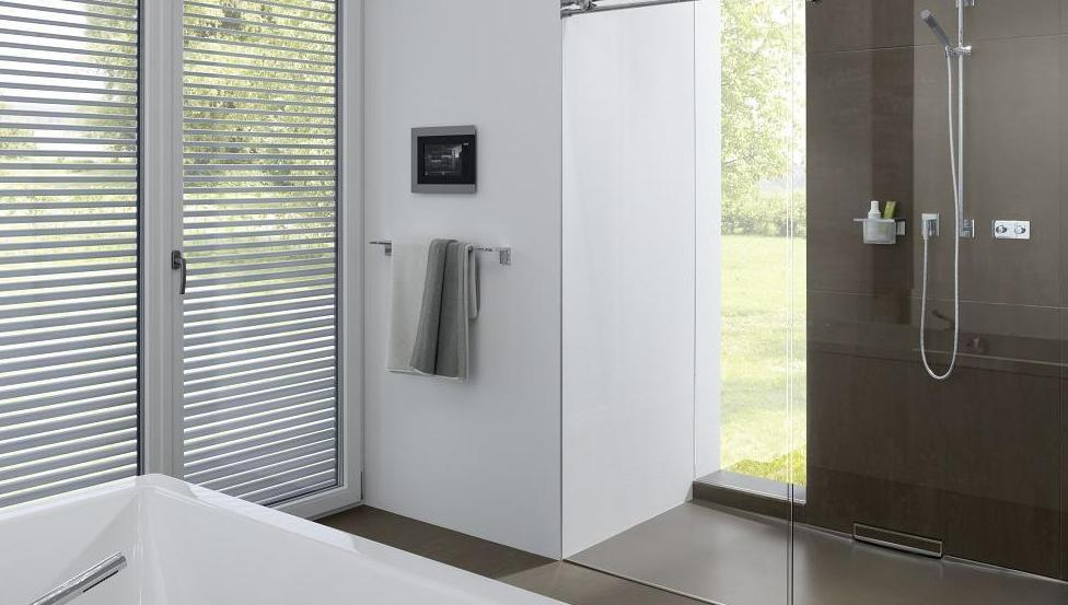 Parois de douche en PLANICLEAR pour le TIMELESS GLASS SHOWER