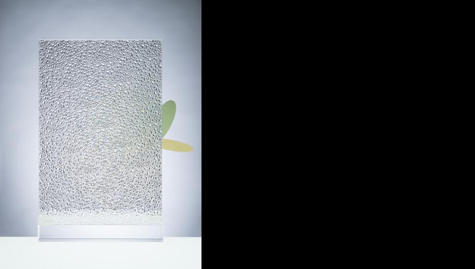 verre texturé