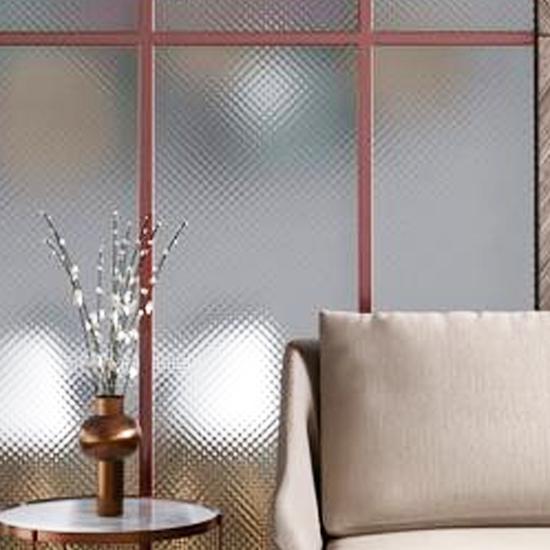 Le verre à motifs DECORGLASS de Saint-Gobain Building Glass